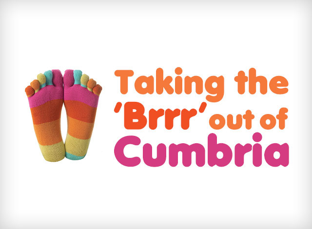 Taking the 'Brrr' out of Cumbria